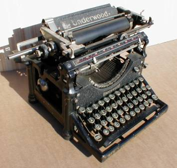 Machines a ecrire - Machine a ecrire underwood ...
